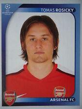 Panini 69 Tomas Rosicky Arsenal FC UEFA CL 2008/09