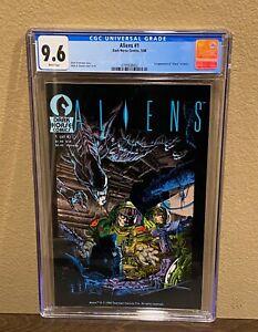 Aliens 1 CGC 9.6 1st Appearance of Aliens In Comics 1988 1st Print Sci-Fi