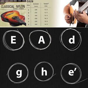 Gitarrensaiten Nylon Saiten Gitarre Konzertgitarre Klassik Nylonsaiten Akustik