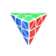 Triangle Pyramid Pyraminx Magic Cube Puzzle Speed Twist Intelligence Toy
