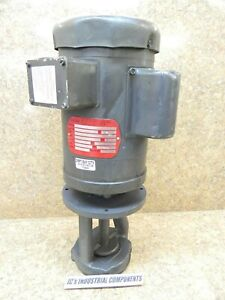 Gusher  9050-Long  immersion  coolant pump   1/2 hp  single ph  115-230 volts