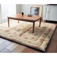 Disney soft kotatsu mattress of low-resilience urethane rug mat 190 x 190 cm