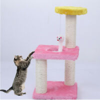 Cat Tree Pet Educational Toy Play Tower Scratch Post Kitten House Bed Furniture