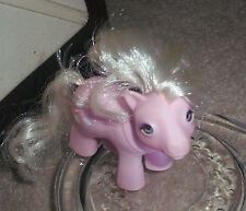 MY LITTLE PONY HORSE VINTAGE BABY LICKETY-SPLIT PINK ICE CREAM CONES G1❀ '85 3""