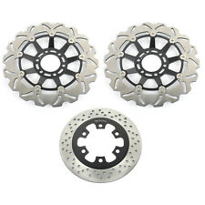 Front Rear Brake Discs Rotors for Hyosung GT250 GT 250 R GT650 R S 12 11 10 09