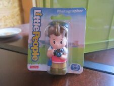 Fisher Price Little People NEW Photographer camera picture taker lady girl mom