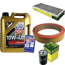 Inspection Kit Filter LIQUI MOLY Oil 5L 10W-40 for Audi 80 8C B4 2.0 1.6