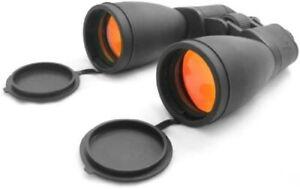 NcSTAR Full Size Binocular - 12x60 Binoculars / Ruby / Rubber Armored B1260R