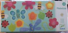 Djeco Filabellule Garland wooden Lacing Toy Bugs Flowers Room Decor