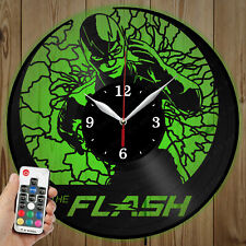 LED Vinyl Clock Flash LED Wall Art Decor Clock Original Gift 3900