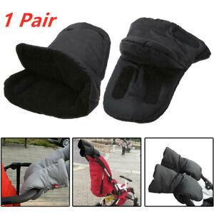 Winter Mittens Pram Pushchair Warm Gloves Hand Muff Waterproof Stroller Glove UK