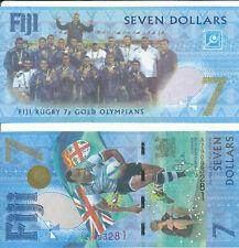 Fiji - 7 Dollars 2017 UNC - Pick 120ar, Serie AZ - replacement