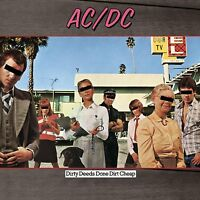 AC/DC Dirty Deeds Done Dirt Cheap 180gm Vinyl LP REMASTERED NEW & SEALED