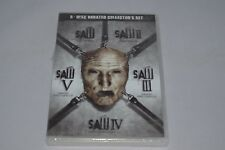 SAW 1 2 3 4, 5 Collection Unrated Uncut I II III IV, V - 5 DVD Set -NEW