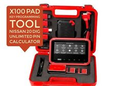XTOOL X-100 PAD Key Programmer OBD2 with EEPROM Adapter USA SELLER