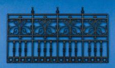 weiß lackiert Geländer aus Holz Balkongeländer für Krippe oder Puppenhaus 30cm