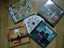 Pack de CDs:Kerman, Trastienda, Punk Panther, The Surfin' Limones, Golpe Radikal
