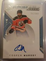 2018-19 SPA FUTURE WATCH AUTO* COOPER MARODY EDMONTON OILERS #216