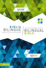 Spanish English Bilingual Bible, NVI/NIV, Blue & Green Paperback Updated Edition