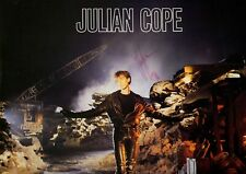 Julian Cope SIGNED VINYL LP Saint Julian (MINT VINYL!)