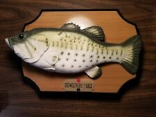 Big Mouth Billy Bass Singing Animated Mounted Fish 1999 Gemmy - Read