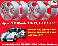 "4 cerchi Cup felgen 17"" x Porsche 911, 964, 993, 996, Boxster 968 TÜV wheels"