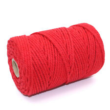 CHUNKY 5mm RED BUTCHERS TWINE - WRAP PRESENTS TIE GIFTS CHRISTMAS DECORATIONS