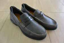 NEW Mens Cole Haan Grand OS Leather Penny Loafer Shoes C25912 in Gray sz 8.5