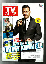 TV GUIDE-9/2012-JIMMY KIMMEL AS 'MAD MEN'-SONS OF ANARCHY-GLEE