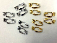 Earring Converter 12 Pack Lot.. Turn Your Pierced Earring Into A Clip-On!