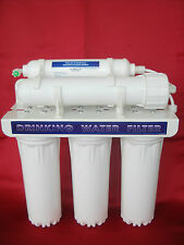 Depuratore D' acqua 5 stadi purificatore ultrafiltrazione + omaggio kit 4 filtri