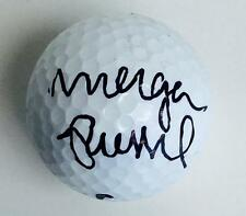 MORGAN PRESSEL  Signed  NIKE  Golf Ball JSA H81750