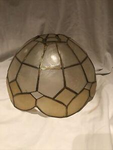 Vintage Retro Capiz Shell Ceiling Pendant Lamp Shade