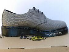 Dr Martens 1461 Chaussures Homme 44 Derby Mocassins Python Richelieu UK9.5 Neuf
