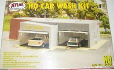 ATLAS HO KIT Car Wash Building KIT HO Scale (1:87) ATL764