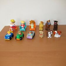 Bulk mixed Lot of Fisher Price Little People Animal Car Figures Bundle A