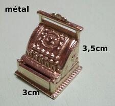 caisse enrégistreusel miniature, maison de poupée, vitrine,magasin,commerce P3