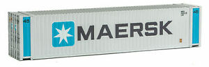 Walthers 45' CIMC Container - Maersk HO Scale