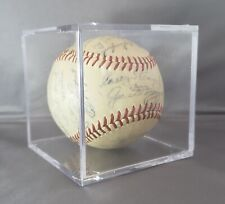 Vintage 1950 New York Yankees Autopen Signed Souvenir Baseball NYY DiMaggio Ford