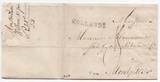 # 1804 AMSTERDAM LETTER 'HOLLANDE' POSTMARK WILHEM & JAN WILLINCK TO MONTPELLIER