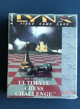 THE FIDELITY ULTIMATE CHESS CHALLENGE   Atari Lynx  New Factory Sealed