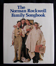 THE NORMAN ROCKWELL FAMILY SONGBOOK ILLUSTRATED FOR GUITAR PIANO -- VG++