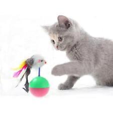 New listing Novely Cat Toy False Mouse Mice Tumbler Balls Pet Kitten Toy Food Toys Qk