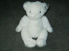 "Silver Cross White Teddy Bear 11"" Soft Toy."