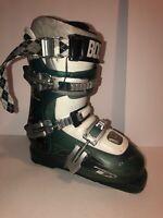 Dalbello KR Storm Ski Boots Size 22.5 266mm Transparent Blue/White