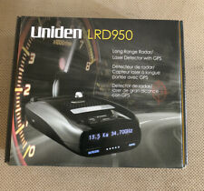 New listing Laser Detector With Gps Uniden Lrd950 New In Box