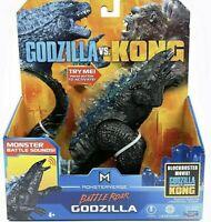 "MonsterVerse Godzilla vs Kong BATTLE ROAR GODZILLA 7"" Action Figure NEW 2021"