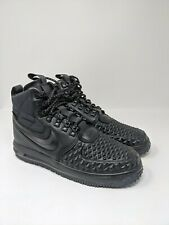 Men's Nike Lunar Force 1 '17 Black Duckboot 916682-002 Size 9.5