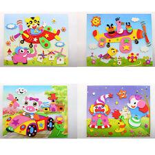 1Pcs 3D DIY EVA Crafts Foam Puzzle Stickers Toy Art Gift for Kids 21cm*26cm HGUK