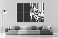 Style Stripes Zebra ZEBRE Home DECO  Wall Art Poster Grand format A0 Large Print